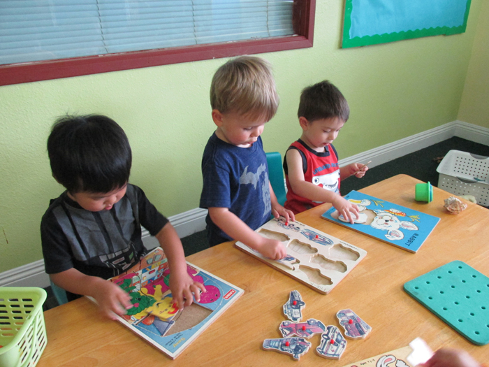 Exemples d'ateliers Montessori grande section